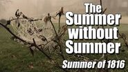 Year without Summer Summer of 1816