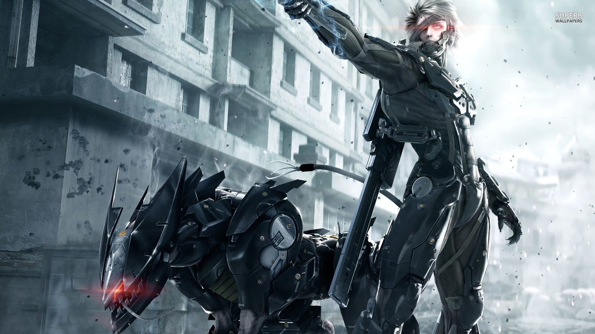 Image 6981891 metal gear rising raiden wallpaper hdg vs 6981891 metal gear rising raiden wallpaper hdg voltagebd
