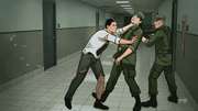 Archer - fight scene @ Air Force Base - speed feat