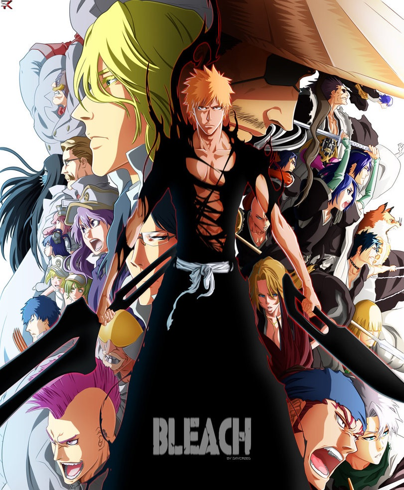 Bleach By Iabeth On Deviantart