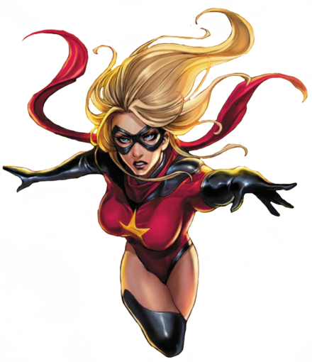 Ms. Marvel Original Captain Marvel MC TR