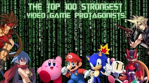 Top 100 Strongest Video Game Heroes Protagonists