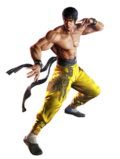 Tekken 7 marshall law cutout render by deadlypoisonbeauty-da8drp5