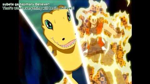 Yggdrasill's Defeat BantyoLeomon's Sacrifice - Savers Episode 46