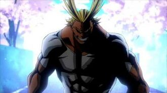 『My hero Academia』OST All Might theme Song-1