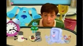 Now its time for so long - Blue's Clues Ending Song