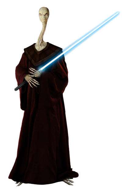 Star Wars Yarael Poof Render2