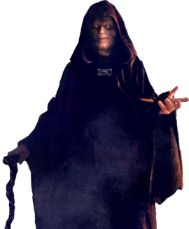 Emperor Palpatine render by HIT IT