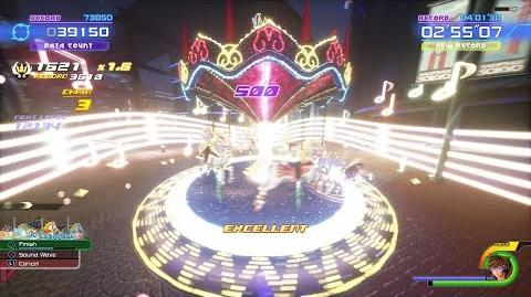 Kingdom Hearts 3 All Attractions Summons