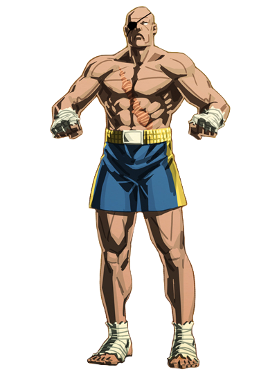 Street Fighter V Sagat