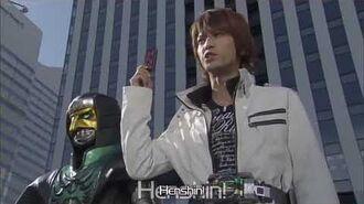 Kamen Rider Zeronos Zero Form Henshin and Fight