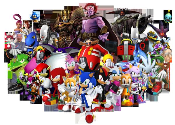 Sonic cast