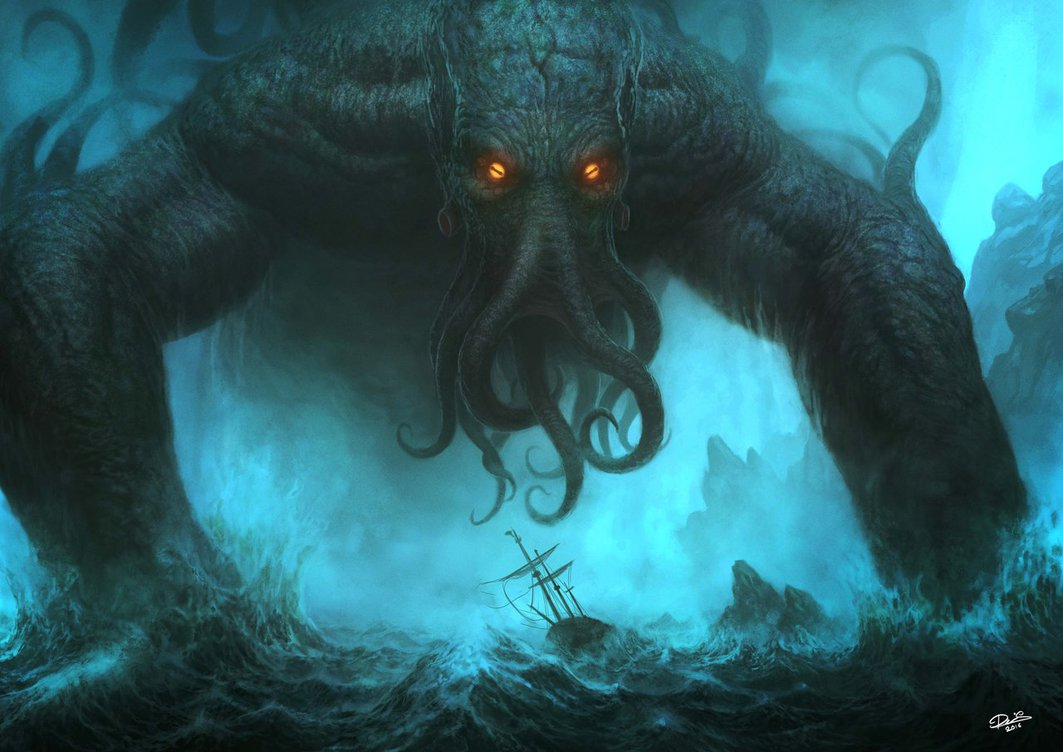Image result for images of cthulhu
