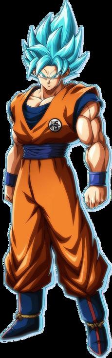 Son Goku DBS Blue Render