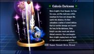 Super Smash Bros. Brawl-Galaxia Darkness' trophy