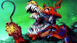 Twisted Foxy Disgusting