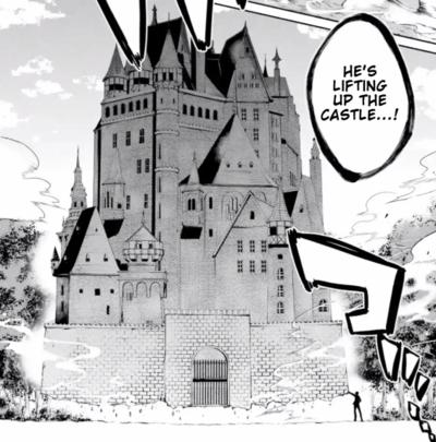 Arnos lifts a castle