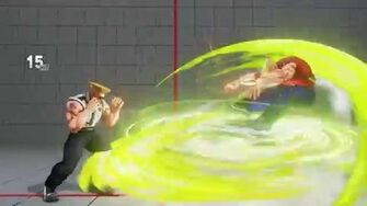 Guile - Sonic Hurricane and Sonic Tempest