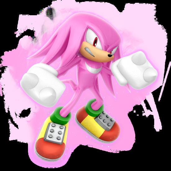 Sonic Games Classic Super Knux (Render)