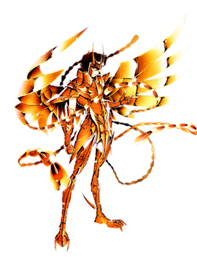 7218 render sacred bronze phenix iki