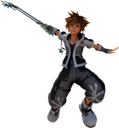 Sora (Light Form) KHIII