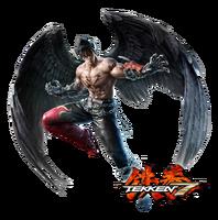 Jin devil jin tekken 7 small cg v2 by blood huntress-d8pm8oz