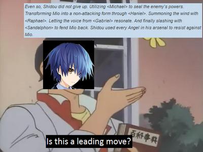 Shido's leading move