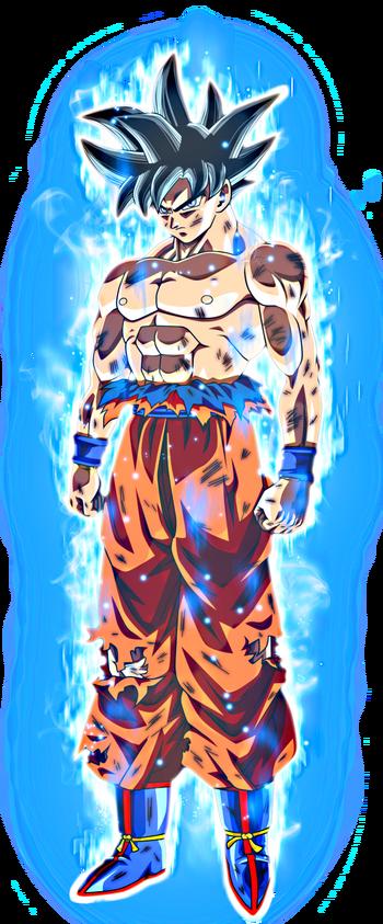 Ultra Instinct Goku Artwork (Jared, Enhanced)