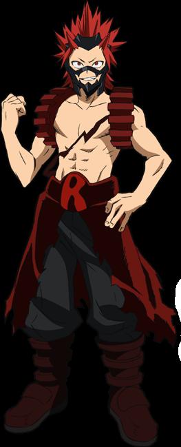 Eijirou Kirishima Full Body Hero Costume