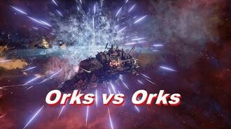 Ork full carrier nova cannon fleet - Heroic Difficulty, 1500 Points - Battlefleet Gothic Armada