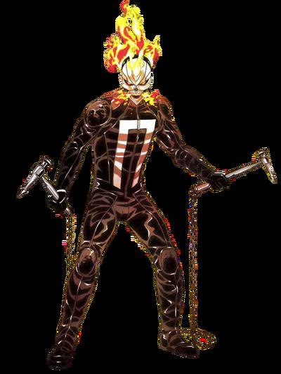 Robbie Reyes Ghost Rider MC Transparent