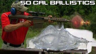 BARRETT .50 CAL vs