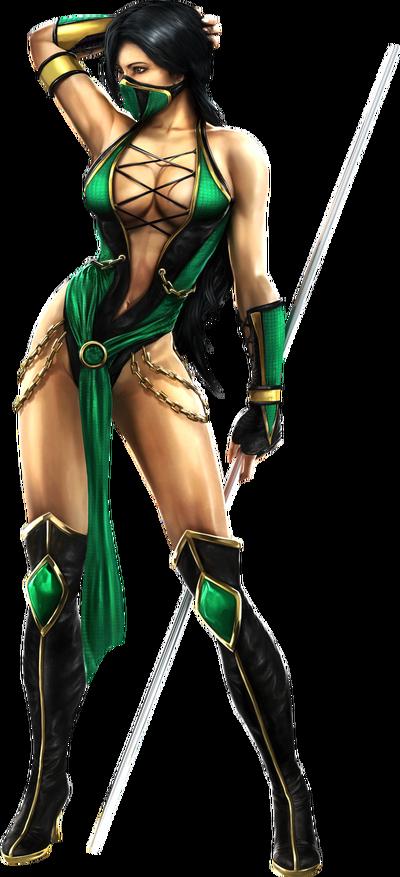 MK9 Jade Render
