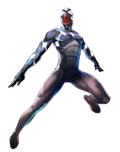 Marvel Comics Cap Universe Spidey (Render)