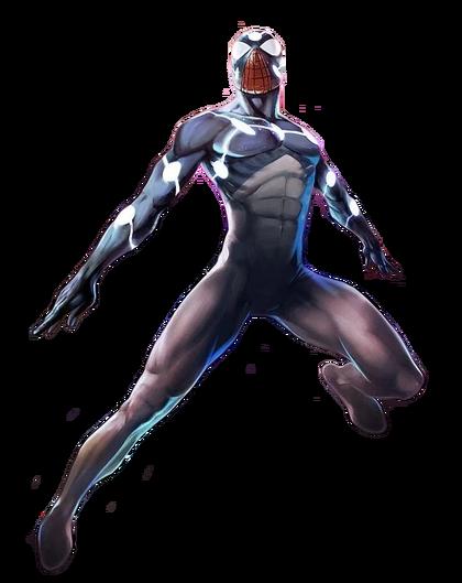Marvel Comics Cap Universe Spidey (Render)