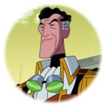 Professor Paradox (Ben 10)-Original Sticker