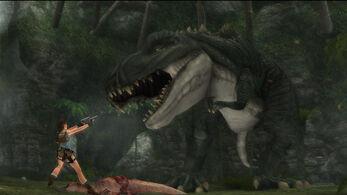 Tyrannosaurus rex (Tomb Raider)