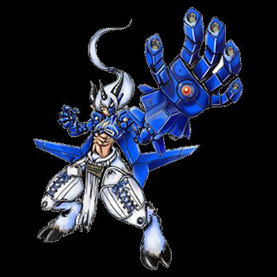 Aegiochusmon blue2