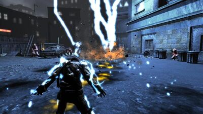 Infamous-electric-shock-gameplay