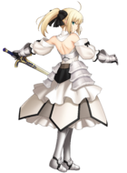 Saber Lily FUC