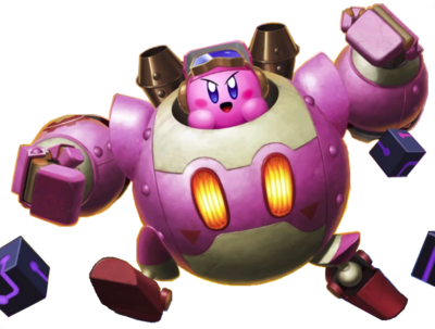 Celebration Picture-Robobot Memories-Robobot Kirby render