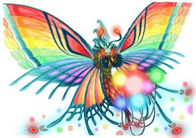 Rainbow Butterfly (Dark Chronicle)