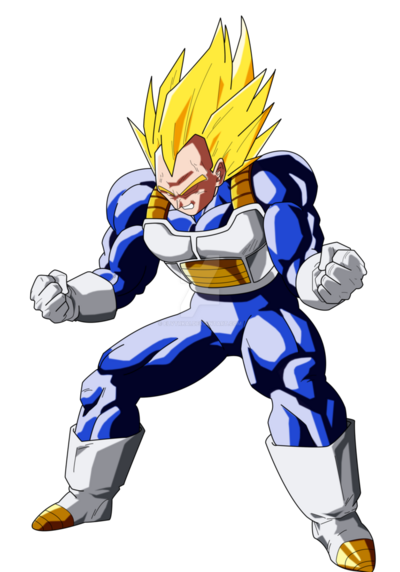 Vegeta ssj2 color by elvtrkai-d6itnj5 (1)