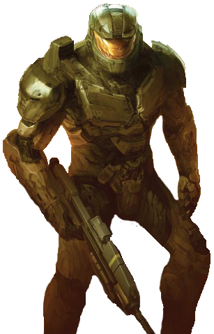 Halo The Fall of Reach Master Chief (Render)