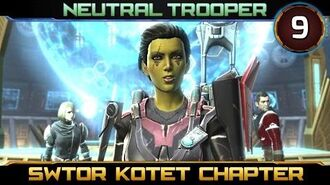 SWTOR Knights of the Eternal Throne Ending ► CHAPTER 9, Trooper - Neutral