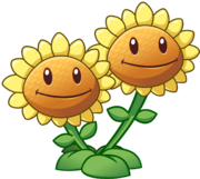 Twin Sunflower HD