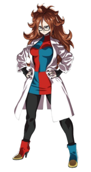 Dragon Ball FighterZ Android 21 (Render)