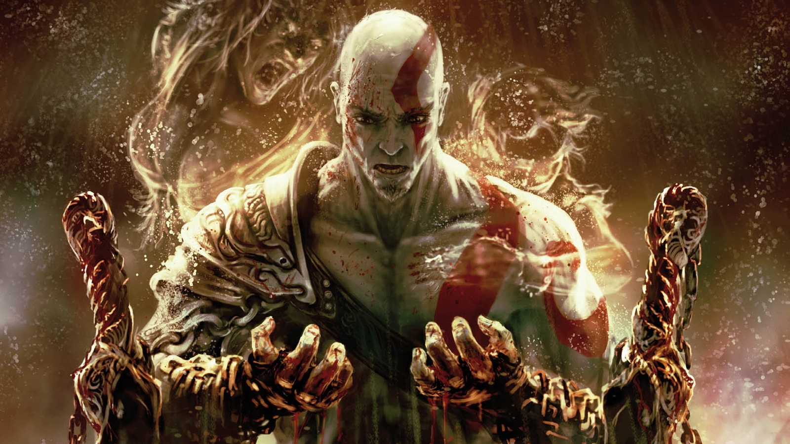 Image god of war 3 kratos wallpaper high definition number vs battles wiki fandom - Wallpaper kratos ...