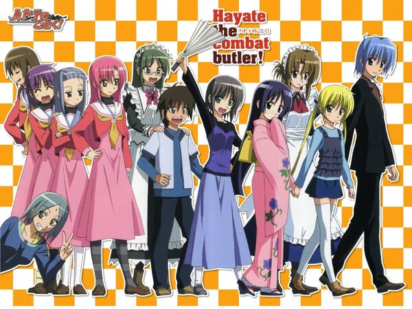 Hayate the Combat Butler! 02
