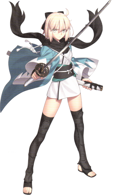 Okita Souji Coat of Oaths